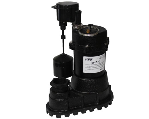 Sump pump SBI and SLF Pompco